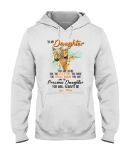 Little Girl Special Woman Precious Daughter Horse Hooded Sweatshirt thumbnail