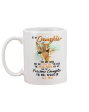 Little Girl Special Woman Precious Daughter Horse Mug back
