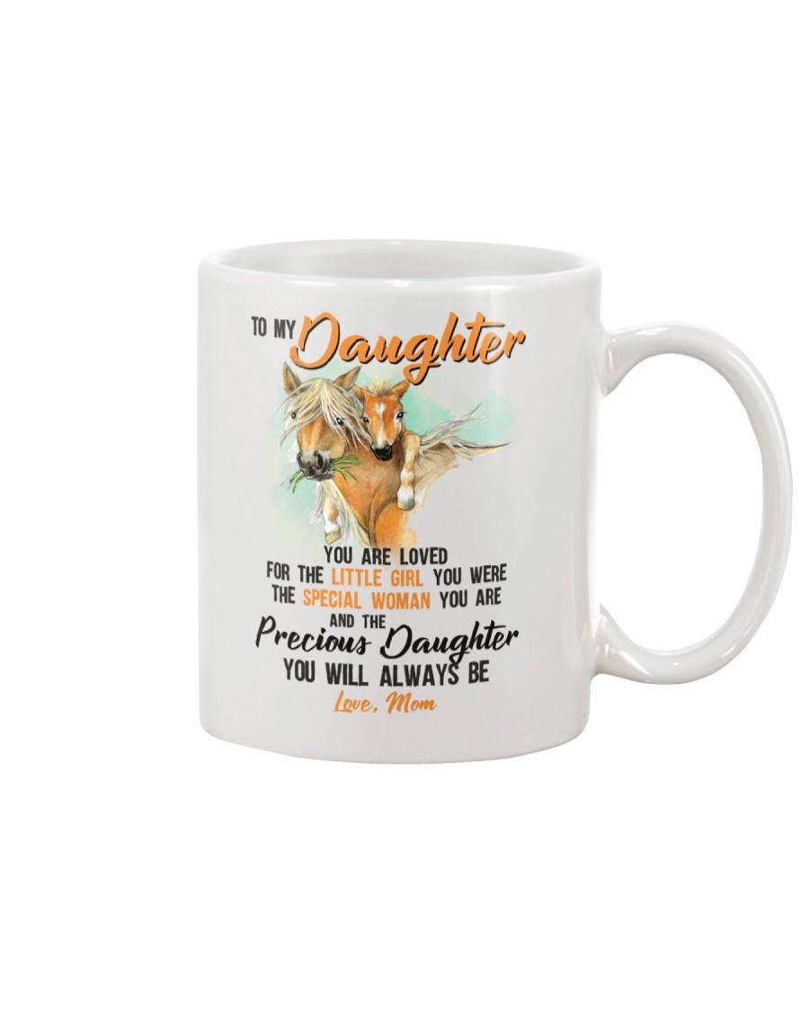 Little Girl Special Woman Precious Daughter Horse Mug