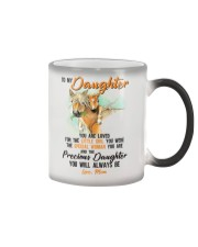 Little Girl Special Woman Precious Daughter Horse Color Changing Mug thumbnail