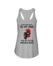 Say To My Face Chicken Ladies Flowy Tank thumbnail