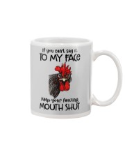 Say To My Face Chicken Mug thumbnail