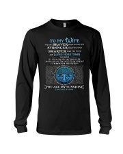 You Are Braver Than You Believe Wolf Long Sleeve Tee thumbnail