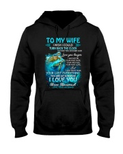 I Love You Three Thousand Turtle Hooded Sweatshirt thumbnail