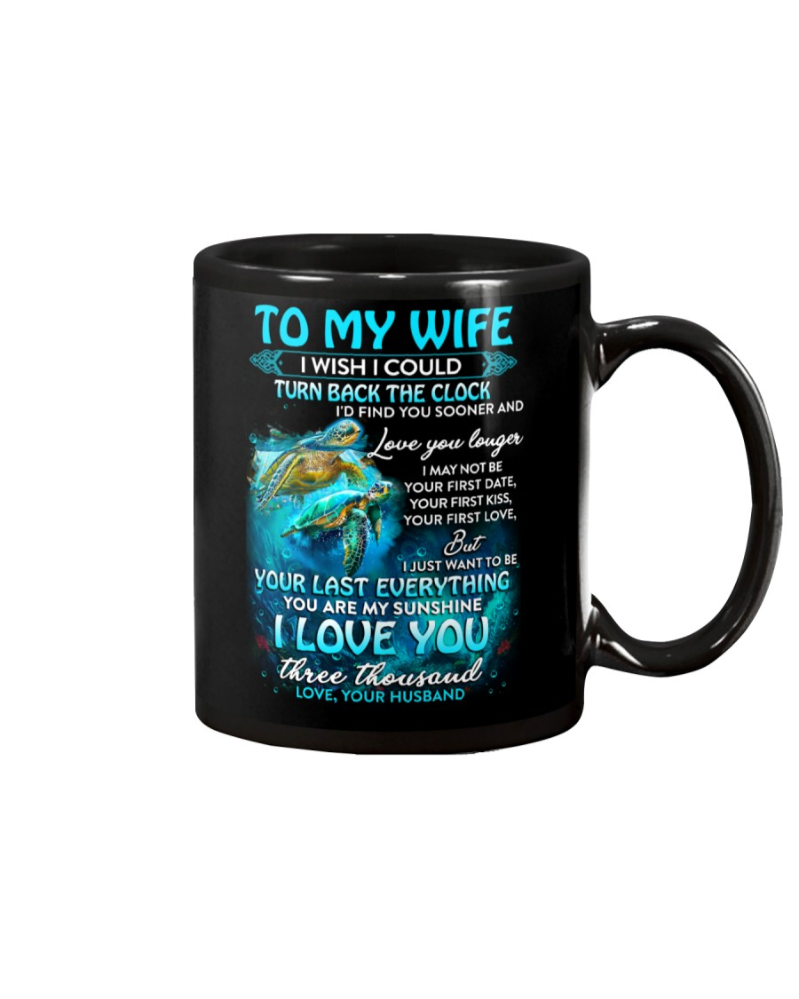 I Love You Three Thousand Turtle Mug
