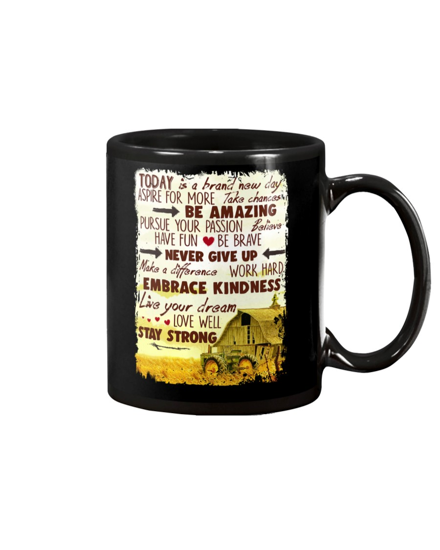 Today Is A Brand New Day Farm Mug