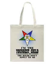 FREEMASON YOUNGEST CHILD FOR DAUGHTER Tote Bag thumbnail