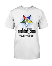 FREEMASON YOUNGEST CHILD FOR DAUGHTER Classic T-Shirt thumbnail