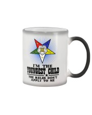 FREEMASON YOUNGEST CHILD FOR DAUGHTER Color Changing Mug thumbnail