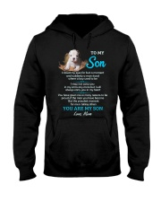I Love You To The Moon And Back Dog  Hooded Sweatshirt thumbnail