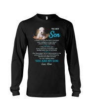 I Love You To The Moon And Back Dog  Long Sleeve Tee thumbnail