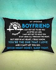 Mechanic Boyfriend Good Night Sleep Tight Pillow Rectangular Pillowcase aos-pillow-rectangle-front-lifestyle-3