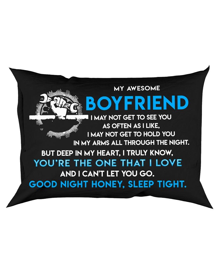 Mechanic Boyfriend Good Night Sleep Tight Pillow Rectangular Pillowcase