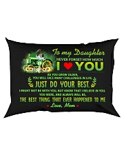 Just Do Your Best Farmer Rectangular Pillowcase back