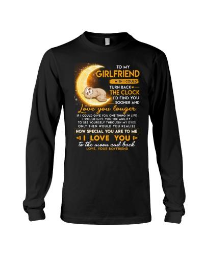 Sloth Girlfriend Clock Ability Moon Mug