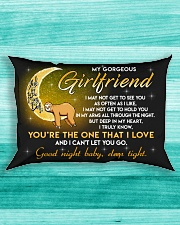 Sloth Girlfriend Good Night Baby Sleep Tight Rectangular Pillowcase aos-pillow-rectangle-front-lifestyle-5