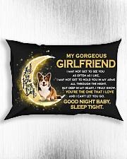 Corgi Girlfriend Sleep Tight Rectangular Pillowcase aos-pillow-rectangle-front-lifestyle-4