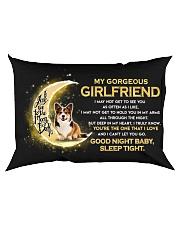 Corgi Girlfriend Sleep Tight Rectangular Pillowcase back