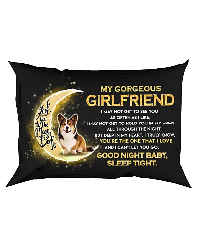 Corgi Girlfriend Sleep Tight
