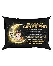 Corgi Girlfriend Sleep Tight Rectangular Pillowcase front