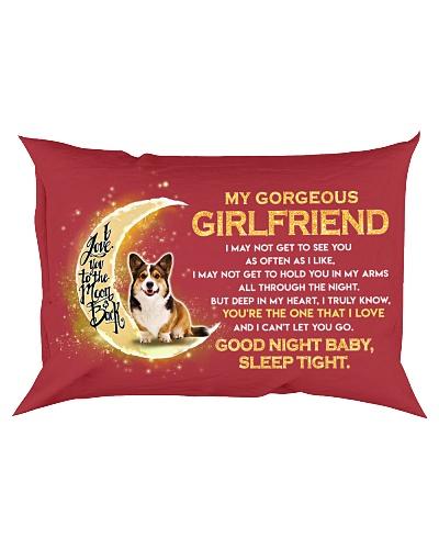 Corgi Girlfriend Sleep Tight