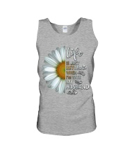 I'm With My Husband White Daisy Unisex Tank tile