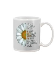 I'm With My Husband White Daisy Mug tile