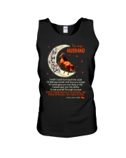 I Love You To The Moon And Back Horse Husband Unisex Tank thumbnail