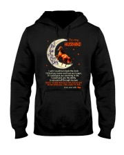 I Love You To The Moon And Back Horse Husband Hooded Sweatshirt thumbnail