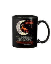 I Love You To The Moon And Back Horse Husband Mug front
