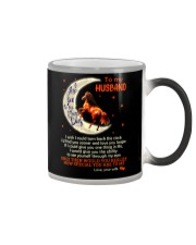 I Love You To The Moon And Back Horse Husband Color Changing Mug thumbnail