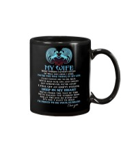 Words Begin To Tell How I Feel Wolf Wife Mug front