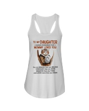 Daughter Remember Mommy Loves You Owl Ladies Flowy Tank thumbnail