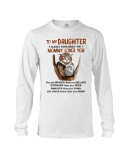 Daughter Remember Mommy Loves You Owl Long Sleeve Tee thumbnail