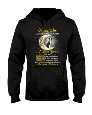 Collie Wife I Love You Hooded Sweatshirt thumbnail