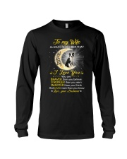 Collie Wife I Love You Long Sleeve Tee thumbnail