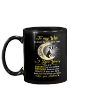 Collie Wife I Love You Mug back