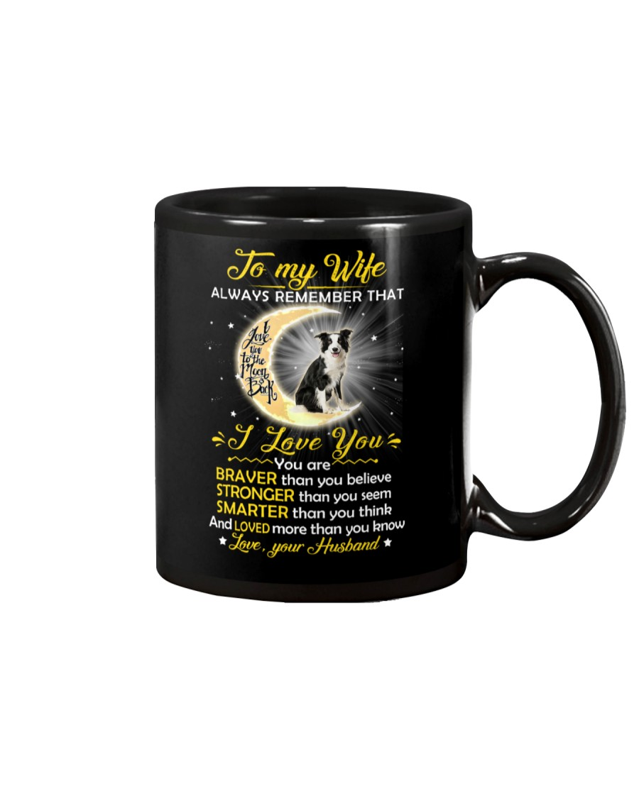 Collie Wife I Love You Mug