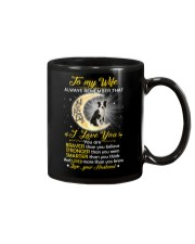 Collie Wife I Love You Mug front
