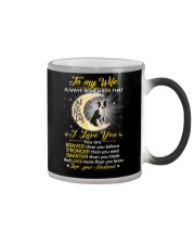 Collie Wife I Love You Color Changing Mug thumbnail
