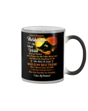I Have A Wonderful Husband Fishing Couple Color Changing Mug thumbnail