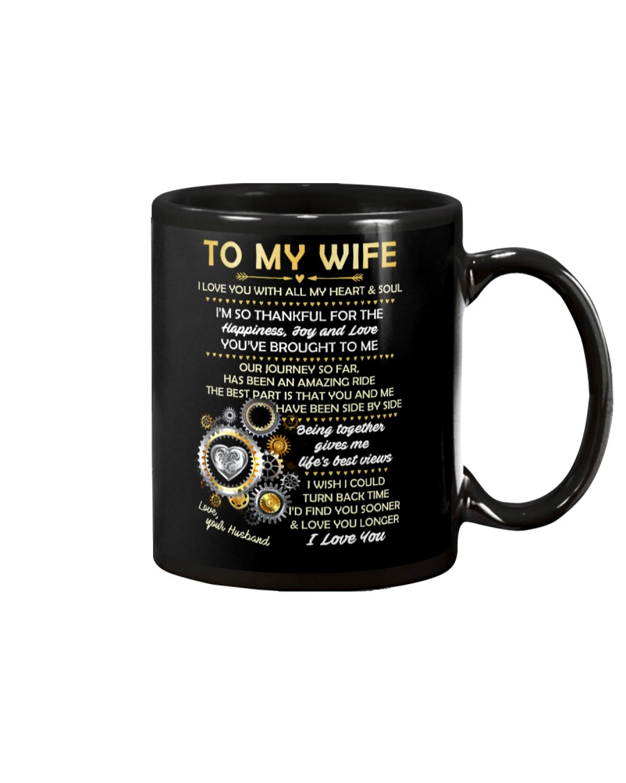 I Love You With All My Heart And Soul Mug