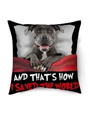 """Dog Pitbull Indoor Pillow - 16"""" x 16"""" thumbnail"""