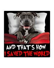 Dog Pitbull Square Coaster thumbnail
