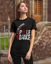 FISHING POLE DANCE GG Classic T-Shirt apparel-classic-tshirt-lifestyle-06