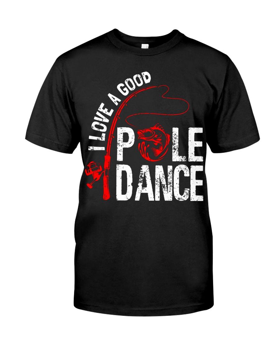 FISHING POLE DANCE GG Classic T-Shirt