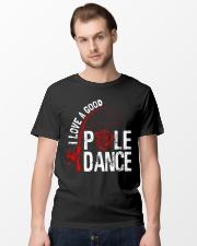 FISHING POLE DANCE GG Classic T-Shirt lifestyle-mens-crewneck-front-15