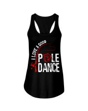 FISHING POLE DANCE GG Ladies Flowy Tank thumbnail