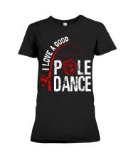 FISHING POLE DANCE GG Premium Fit Ladies Tee thumbnail