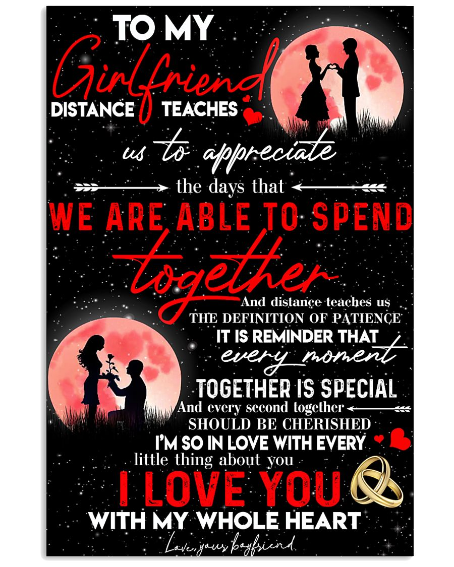 Girlfriend Together Is Special Poster CC 11x17 Poster